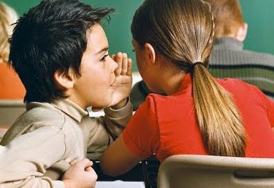 niños hablando